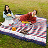 Wholesales Folding Blanket Camping Outdoor Beach Waterproof Backing Picnic Mats