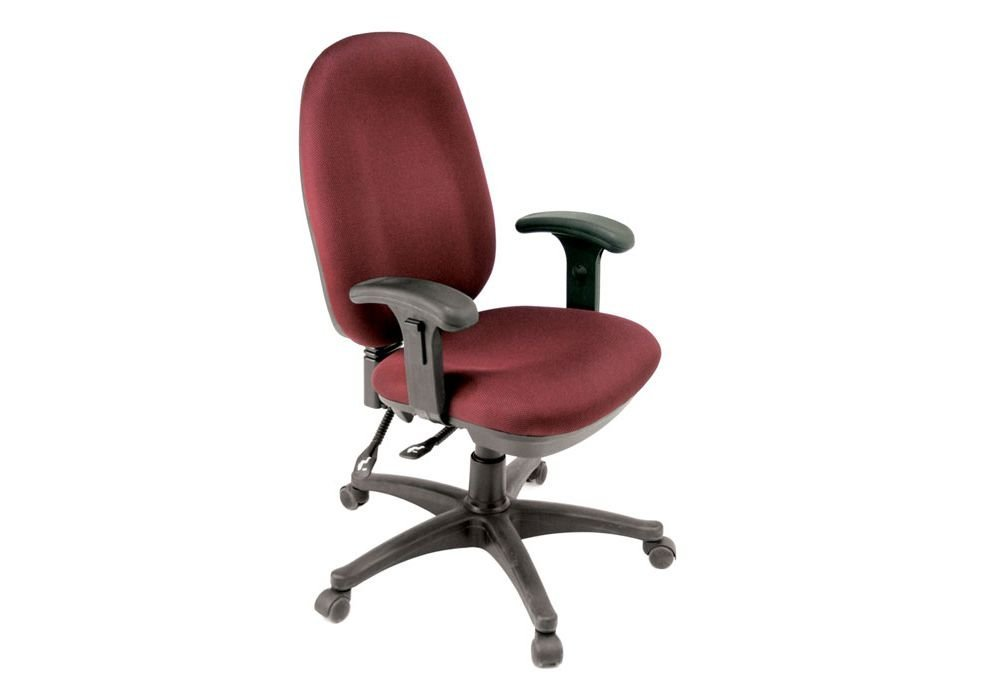 """Fabric Ergonomic Task Chair Black Mesh Fabric Dimensions: 24""""W X 24""""D X 35""""H Seat Dimensions: 20""""Wx18""""Dx17-21""""H Back Dimensions: 20""""Wx21""""H Weight: 45 Lbs"""