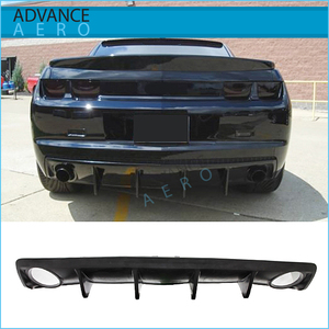 FOR 2010 2011 2012 2013 Chevy Camaro OE Shark Fin Rear Bumper Lip Diffuser