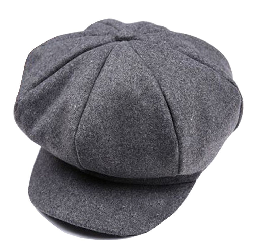 1fbba7f5ba9da Get Quotations · HugeStore Baby Toddlers Newsboy Cap Berets Beanie Hat Cap  Peaked Hat Cap for Boys Girls