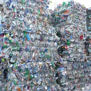 Plastic Bottles Scraps/ PET Bottle Scraps/ Mix Color Bottles in Bale