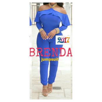Brenda Hand Beaded Premium Kaftan Abaya Summer Jumpsuit Blue Collection