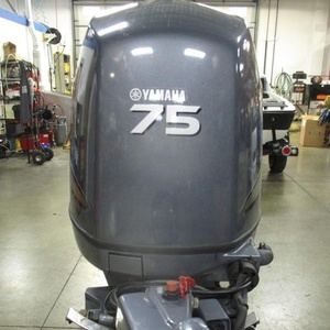 New/Used Yamahas outboard motor 75 hp 4 stroke