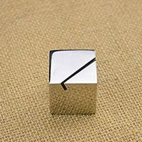 Aluminum Square Business Card Holder Table Number Card Stand Menu Holder
