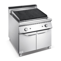 Dubai Shinobal Hotel/Restaurant Gas/Electric Lava Rock Grill Equipment