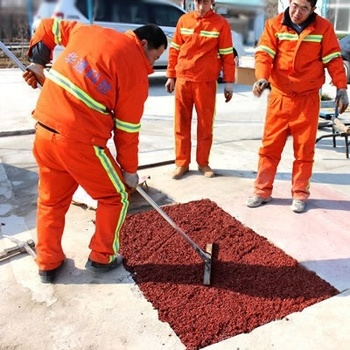 Huatong colourful cold asphalt premix in bag/nice quality and price