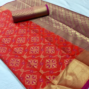 Indian Silk Patola Saree for Women Manufacturing Rate