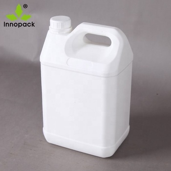 Food grade custom 5 liter oil plastic jerry can