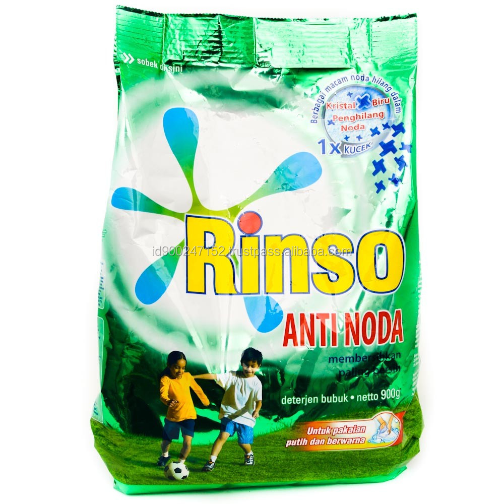 Rinso Detergent Stain Remover For Washing Clothes
