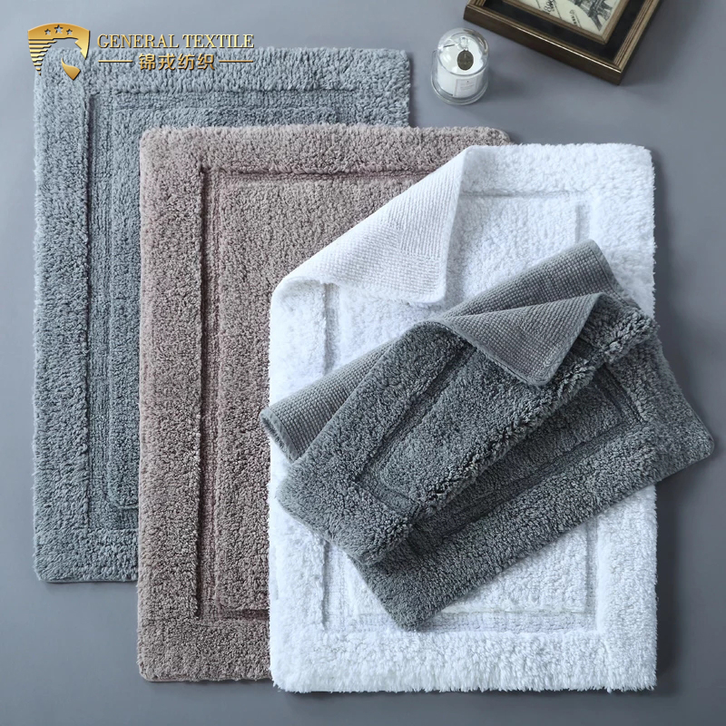 Anti-Slip Water Absorbent cotton Bathroom/Door/Floor Bath Shower Rug