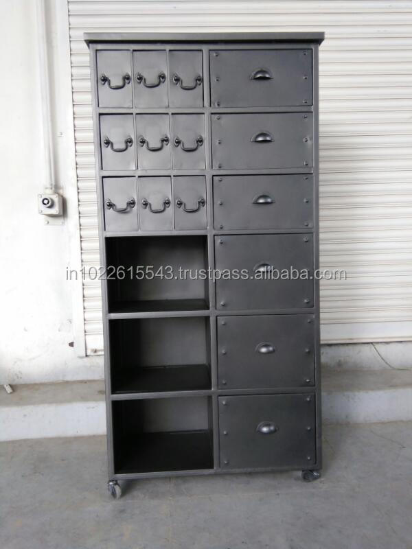 Metal Painted Storage Cabinet