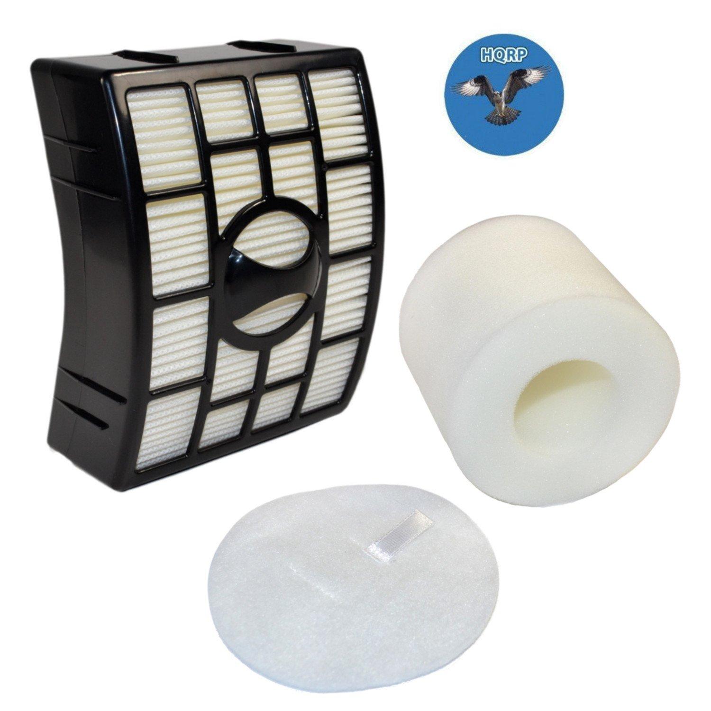 HQRP Filter Kit for Shark Rotator NV750 Series NV750W NV751 NV752 NV750REF Powered Lift-Away Upright Vacuum Cleaners (HEPA + Foam&Felt Filters) Coaster