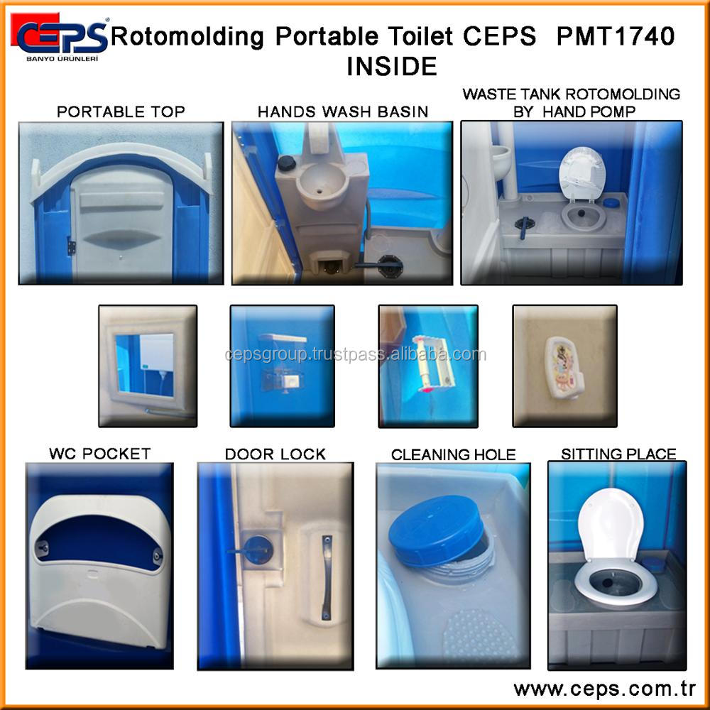 Portable Construction Site Toilets Rotomolding Portable
