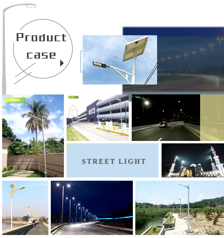 Mobilephone app control solar 40w led street light all in one