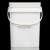 2/4/8/15 liter litre hot sale OEM square plastic bucket for cookie