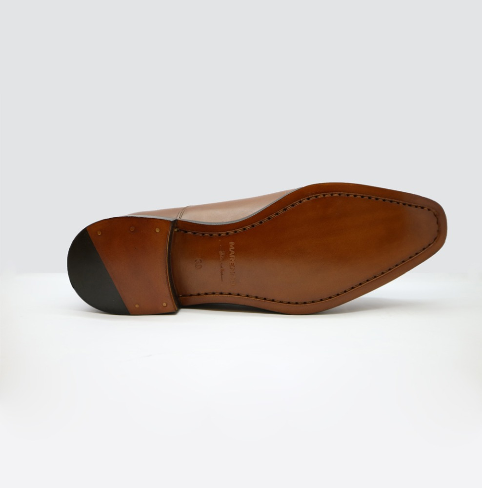 Captoe Oxfords man hole shoes handmade leather UqrUwFB