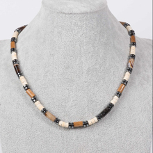 Hight Quality Best Price 하와이 Surfer Beach Style Men Beaded Necklace made 의 마노 및 코코넛