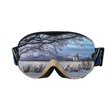 OEM windproof כפול עדשת שלג ספורט <span class=keywords><strong>סקי</strong></span> goggle