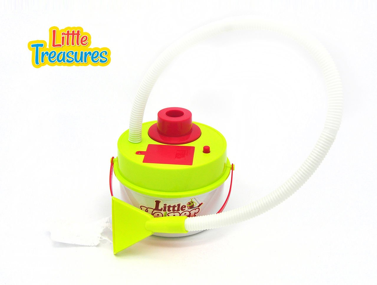 Little helper quality cleaning play set from Little Treasures – Complete with functional vacuum toy–play set for children fun pretend helping playtime