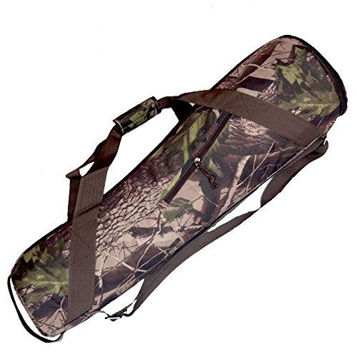 Foto.Studio Camouflage 31.4 X 7.8 X 5 Inch Padded Nylon Camera Tripod Bag Light Stand Case Carry Travel for Manfrotto Velbon Gitzo Slik Etc Taperd-shaped 800mm