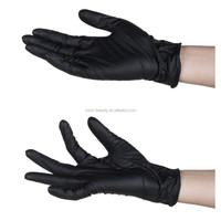 OEM Tattoo Gloves Latex Body Art Waterproof Black Disposable Accessories Tattoo Gloves for Permanent Makeup Tattoo Supply