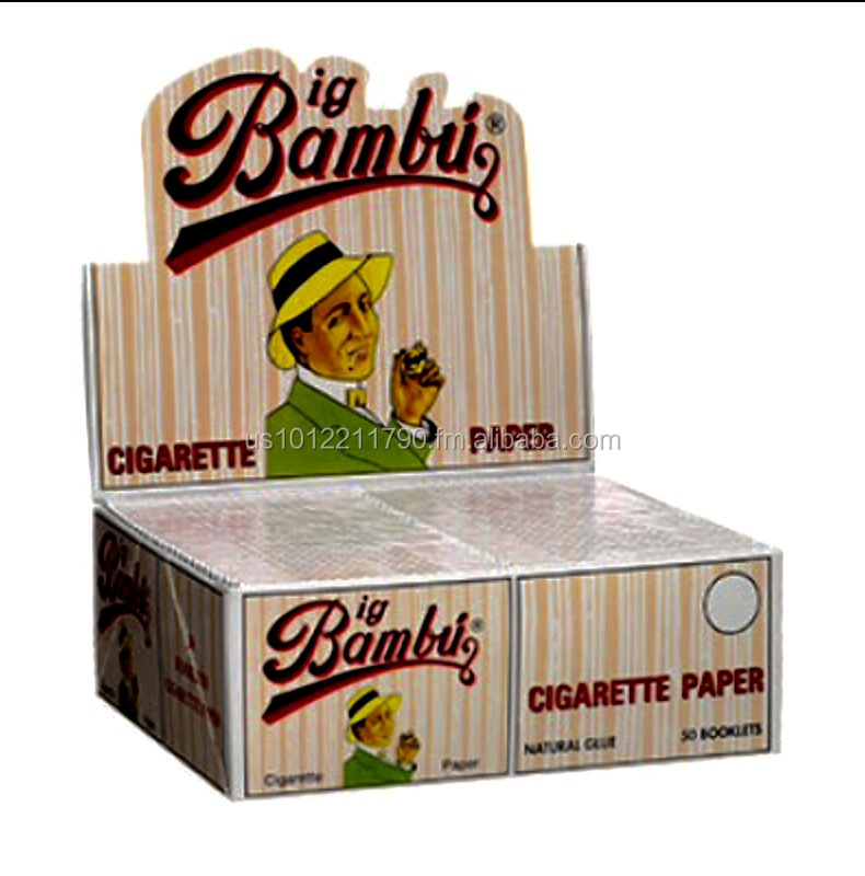 Bambu rolling papers 50 pack box