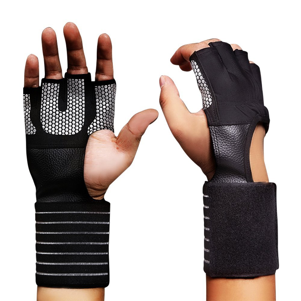83fba2611 Get Quotations · ElementDigital Sports Gloves With Wrist Support Cross  Training Gloves for Fitness Wod Weightlifting Gym Workout Powerlifting