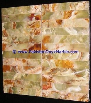 2u0026quot; X 4u0026quot; Multi Grüne Onyx Mosaik Fliesen Für Bad Wände