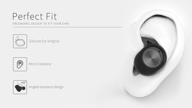 BT Sem Fio estéreo De Alta Baixo Cancelamento de Ruído Fones De Ouvido Sem Fio bluetooth Estéreo HD Magnético Earset com caso De Carregamento