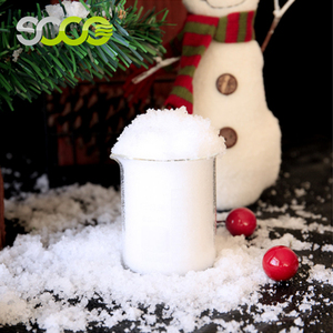 Super SOCO New Product Ideas Fake snow For Christmas Decorations
