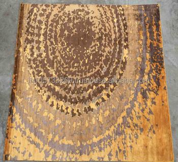 Zeitgenossische Moderne Design Wolle Bambus Seide Teppich Buy