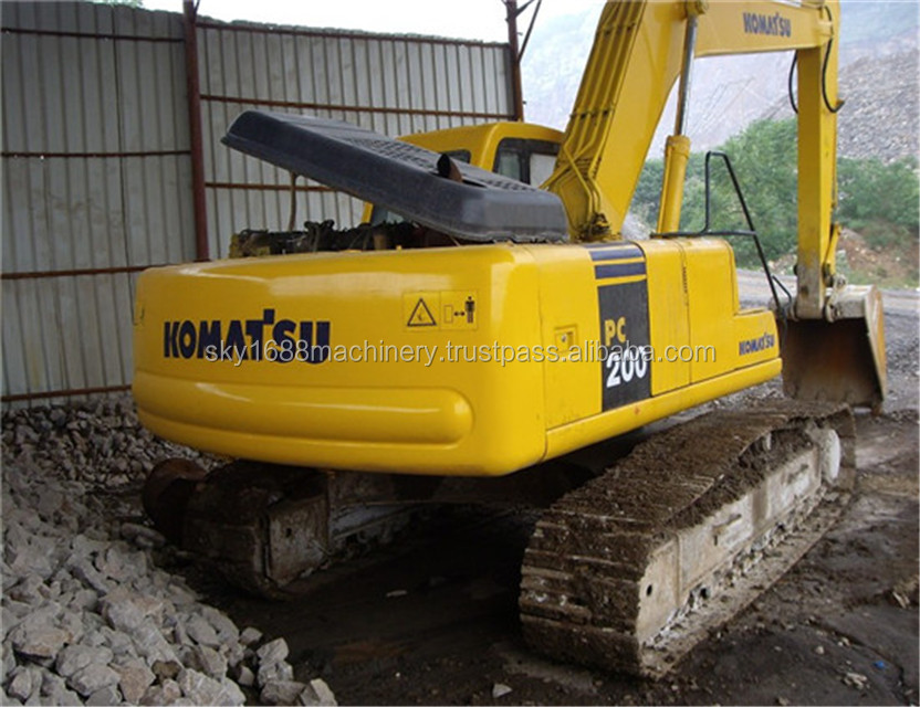 Used komatsu pc200-6 excavator for sale/secondhand pc200-6 excavator with good quality