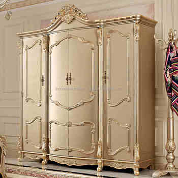 European Wardrobe 4 Door Wardrobe Carved Bedroom Furniture Lockers Cabinets  Cabinets Solid Wood Wardrobe Four Cabinets - Buy Wood Carving Door Kitchen  ...