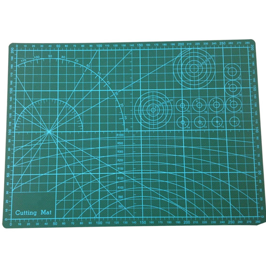 GKS PVC Green Cutting Mat Board A3 Size Pad Model Hobby Design Craft DIY Tools