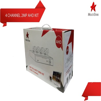 Multistar 4 Channel 2mp/1080p Outdoor Ahd Camera Kit - Buy Camera Starter  Kit Product on Alibaba com