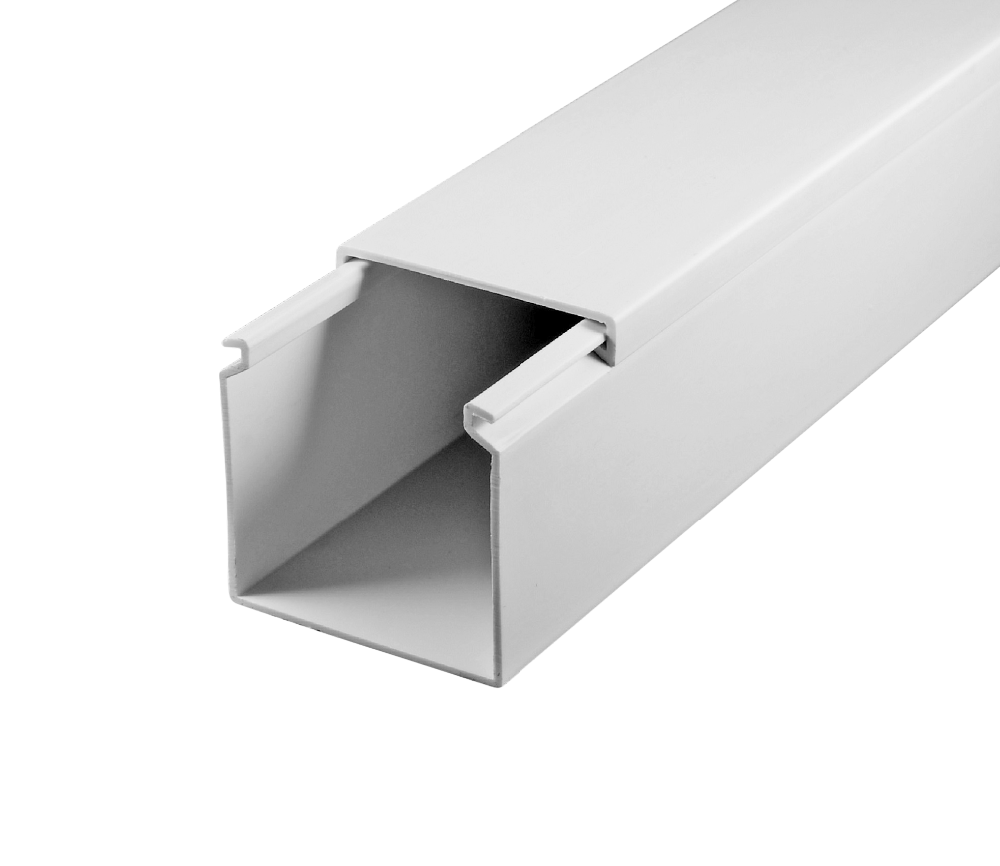 Cable Trunking 50*50 (cable Channel)(wiring Duct) Ce,Rohs,Iso 9001:2015 on