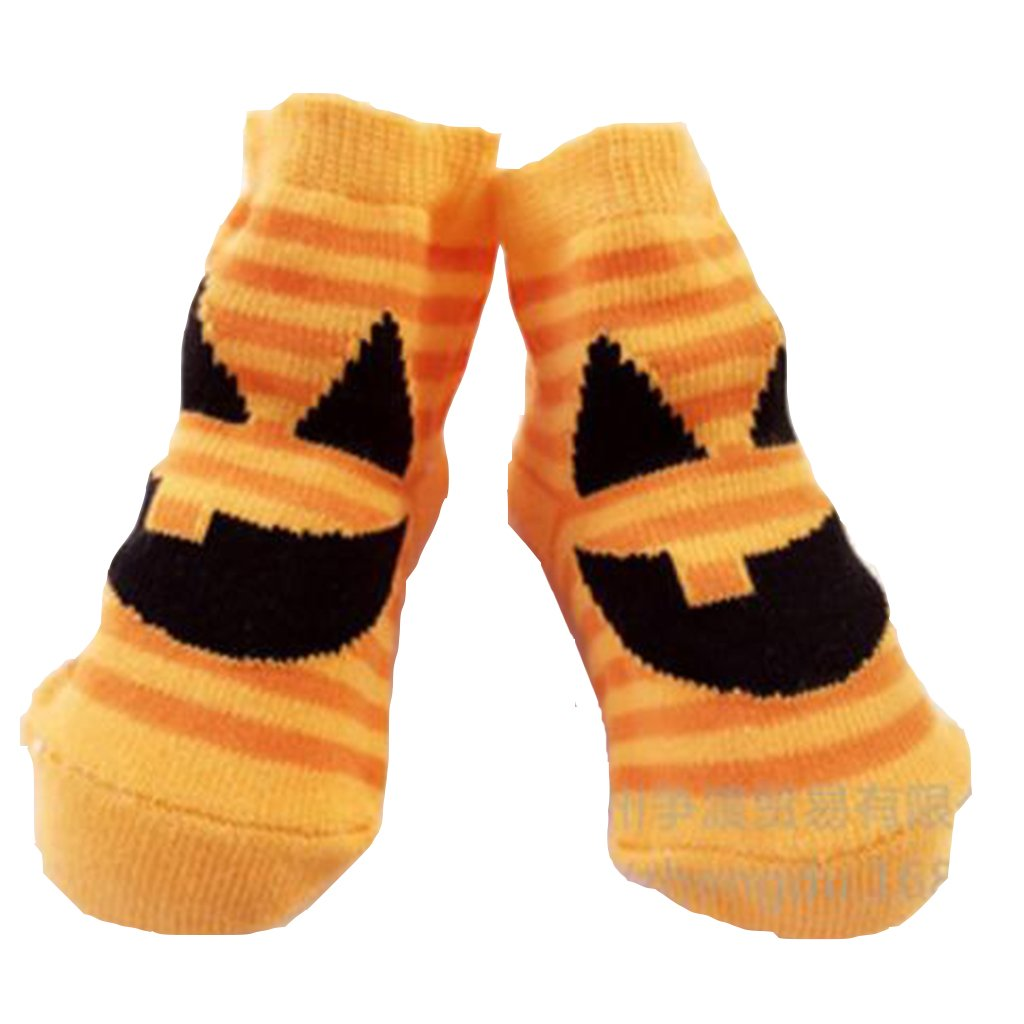 Halloween Baby Pumpkin Socks Lovely Soft Halloween Baby Socks Newborn Pumpkin Toddler