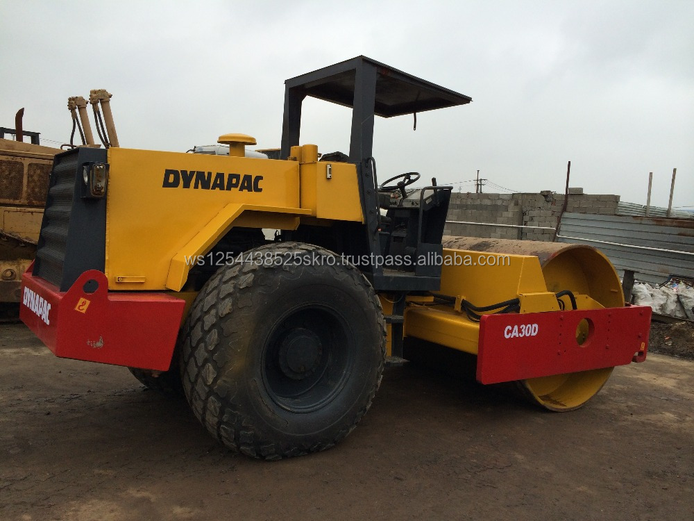top selling used dynapac ca30d road roller for sale