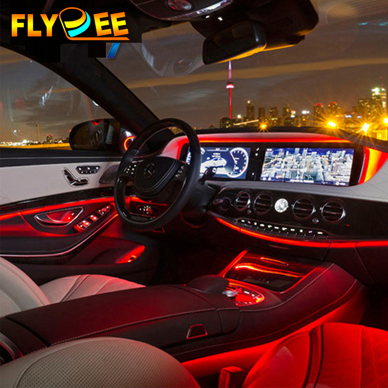 Newest RGB led decoration light for Car Interior Light LED Strips RGB led Atmosphere Light