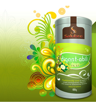 hot sale weight loss green botanical aloe slimming tea