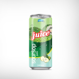 FDA Soursop juice in can for Private labeling from Tan DO Beverage Company in Vietnam
