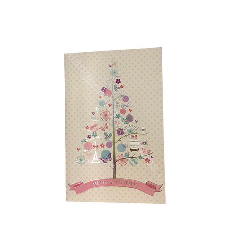 Factory Supply Popular Designattractive Price Handmade Decoration Greeting Card White Greeting Card