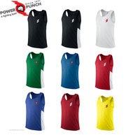 Weight Lifting Vest Workout Gym Singlet Tank top Mens Blank