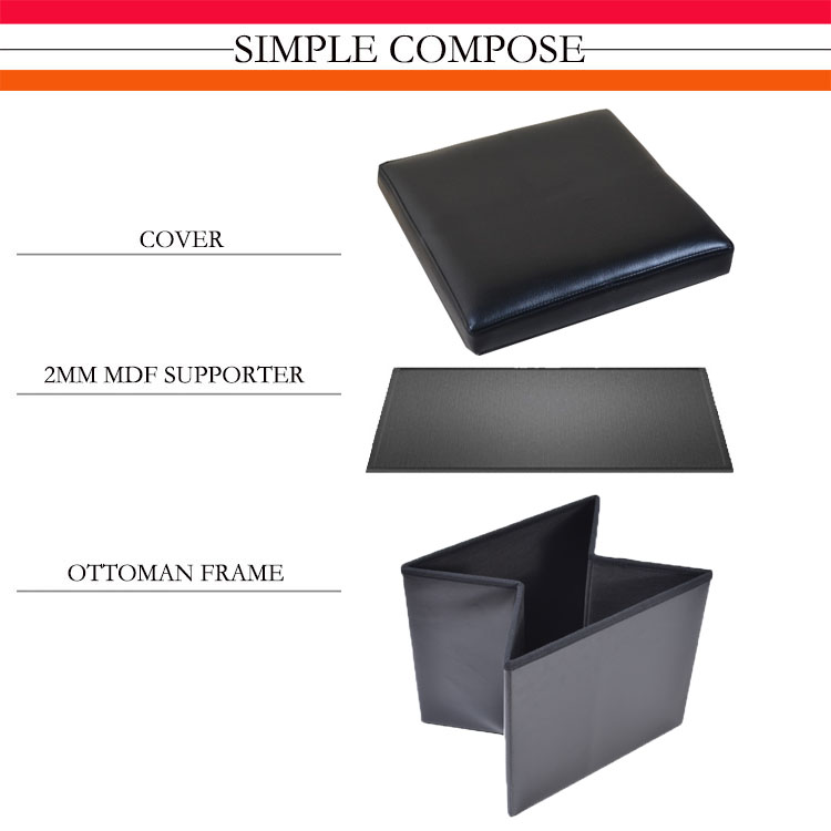 Suede high quality hot sell storage box with lid