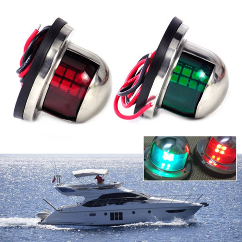 Automobiles & Motorcycles Collection Here Abs Plastic Marine Boat Yacht Light All Round 360 Degree White Led Anchor Navigation Lamp Year-End Bargain Sale Atv,rv,boat & Other Vehicle