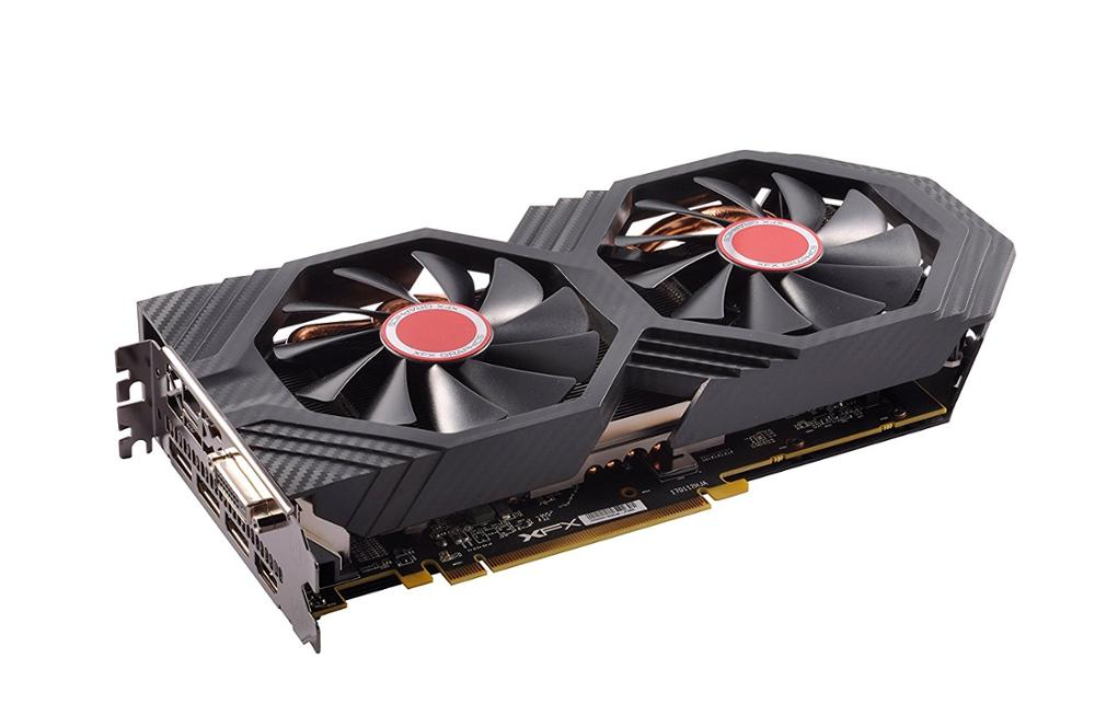 XFX Gts XXX Edition Rx 580 8GB OC 1386Mhz DDR5 3xDP HDMI DVI Graphic Cards RX-580P8DFD6