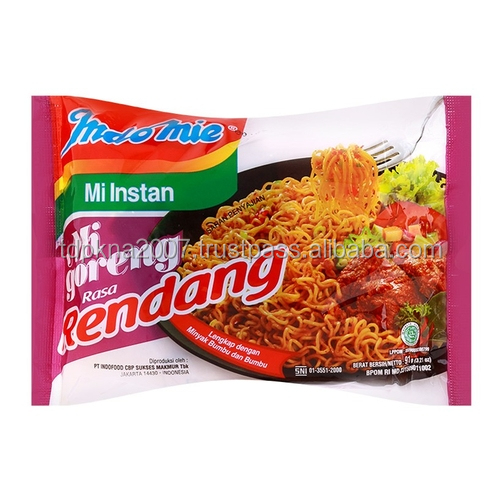 Best Spicy Beef Flavor Indomie Mi Goreng Rendang Instant Noodles For Sal