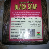 Tradtional African black soap