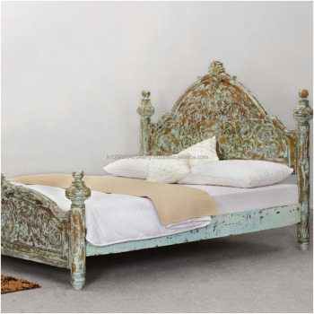 Wooden Bedroom Furniture Carved Headboard Double Bed - Buy Wooden Furniture  Double Bed,Solid Wood Double Bed,Carved Wood Beds Product on Alibaba.com
