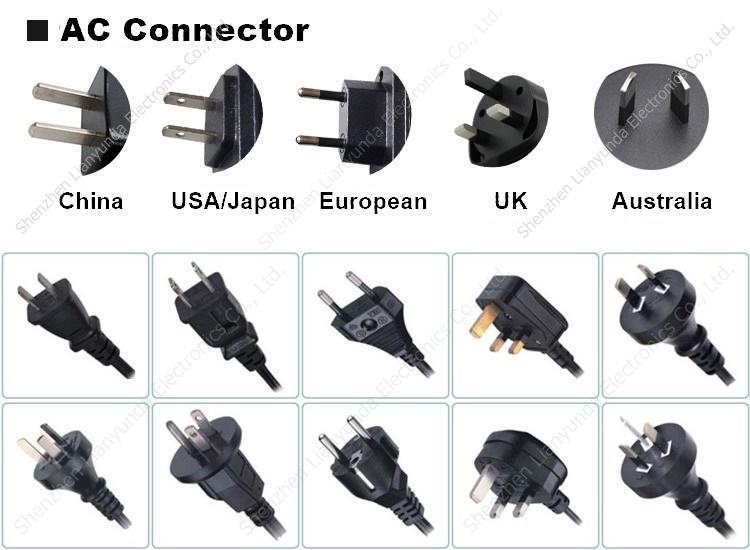 Power supply 9 v 12 v 15 v 24 v medis adapter 5 v 3a